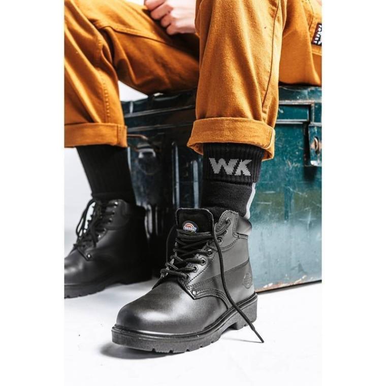 Chaussettes de travail en coton bio épaisses et résistantes Forest Workwear