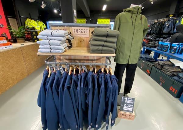 Corner revendeurs - Vêtement de travail bio